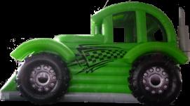 Hüpfburg Auto - Hot Wheel mieten leihen