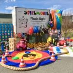 Kinder Spielmobil Anhänger mieten / leihen